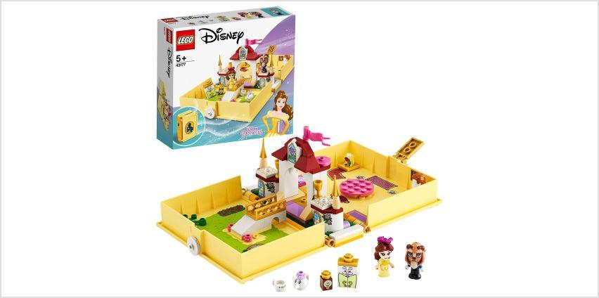 LEGO Disney Princess Belle's Storybook Adventures Set- 43177 from Argos
