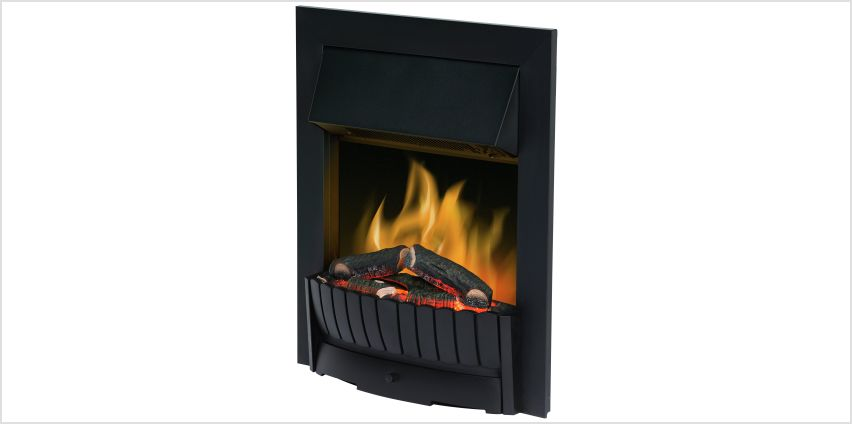 Dimplex Clement 2kW Electric Inset Fire. from Argos