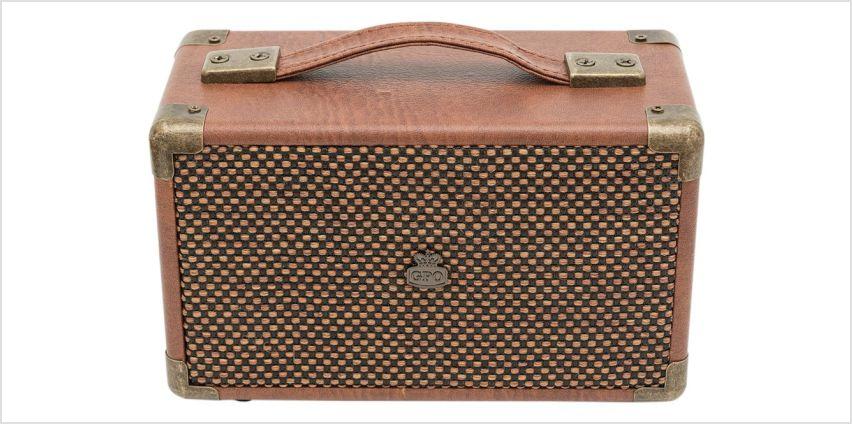 GPO Westwood Mini Wireless Speaker - Brown. from Argos