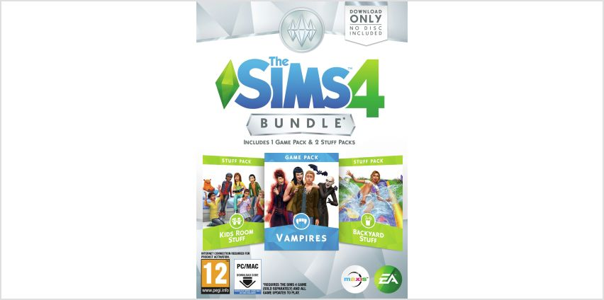 The Sims 4 Vampires Bundle Pack PC Game from Argos
