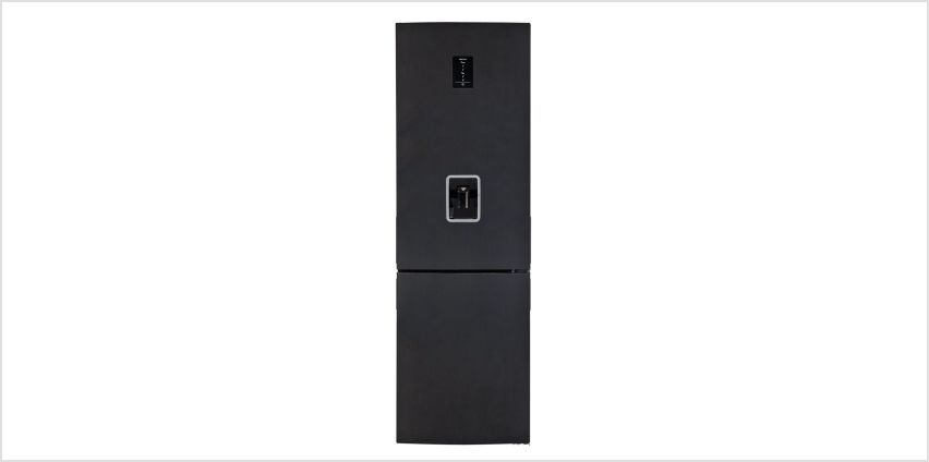 Bush BFFWX60185B Frost Free Fridge Freezer - Black from Argos