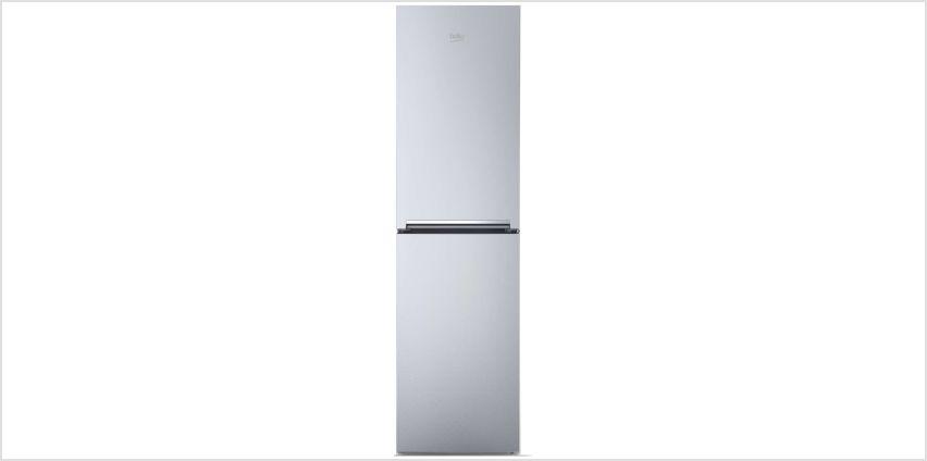 Beko CFG1582S Fridge Freezer - Silver from Argos