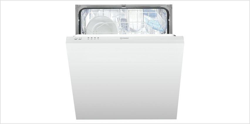 Indesit DIF04BUK Integrated Dishwasher - White from Argos
