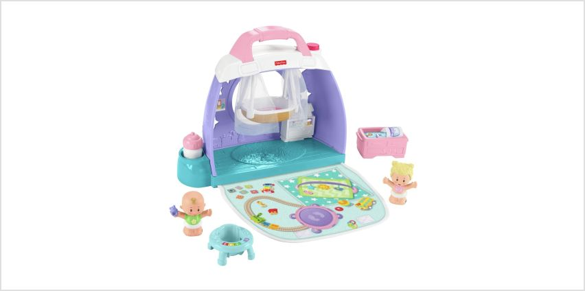 Fisher-Price Little People Babies Nursery Room Playset from Argos