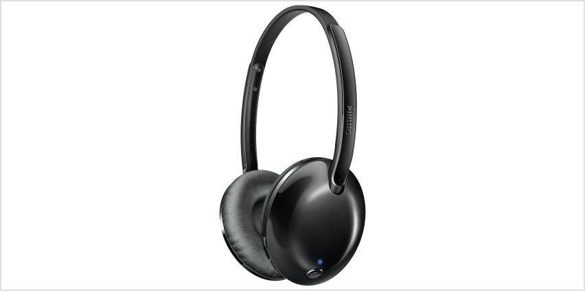 Philips Ultralite On-Ear Flite Wireless Headphones - Black from Argos