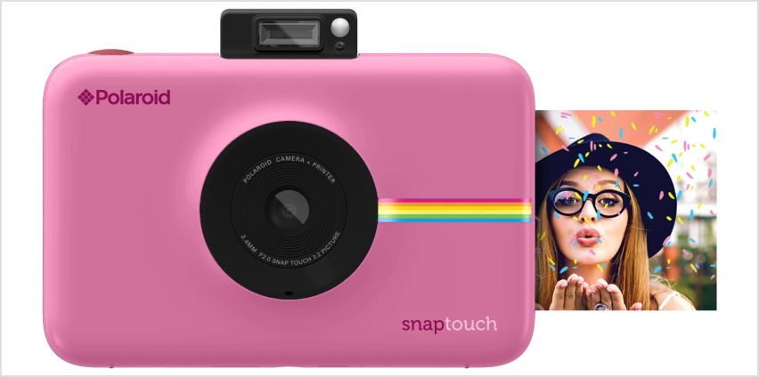 Polaroid Snap Touch Camera - Pink. from Argos