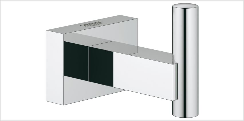 Grohe Essentials Cube Robe Hook - Chrome from Argos
