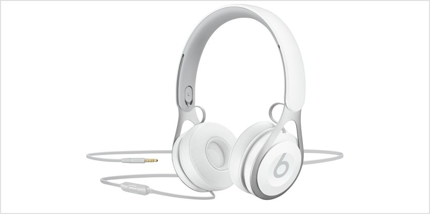Beats by Dre EP On-Ear Headphones - White from Argos