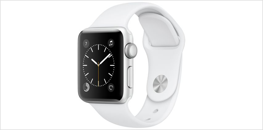 Apple Watch S1 42MM Silver / White Sport Band from Argos
