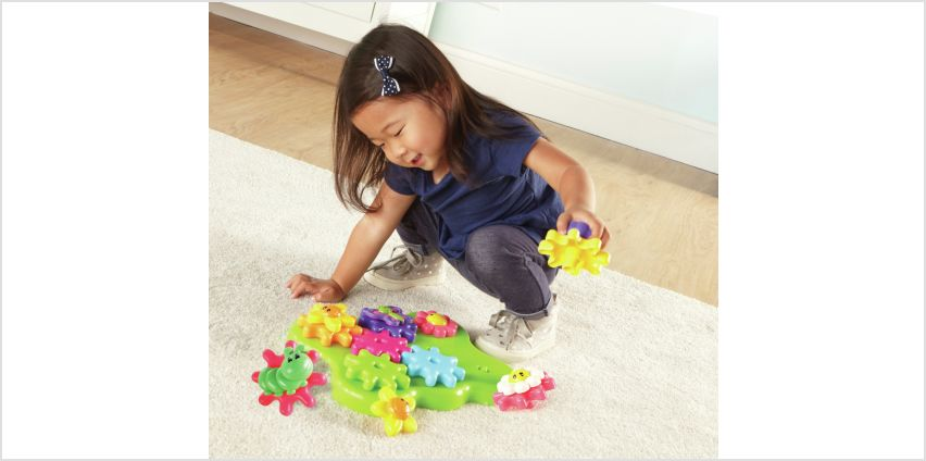 Gears Build And Spin Flower Garden. from Argos