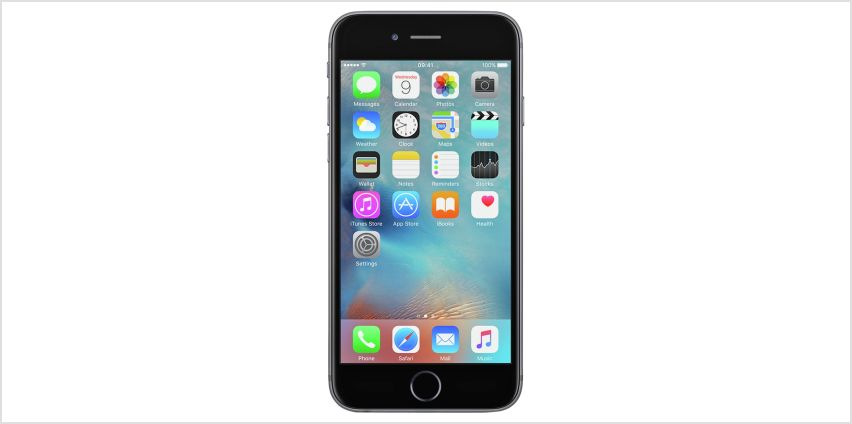 SIM Free iPhone 6s 128GB Mobile Phone - Space Grey from Argos