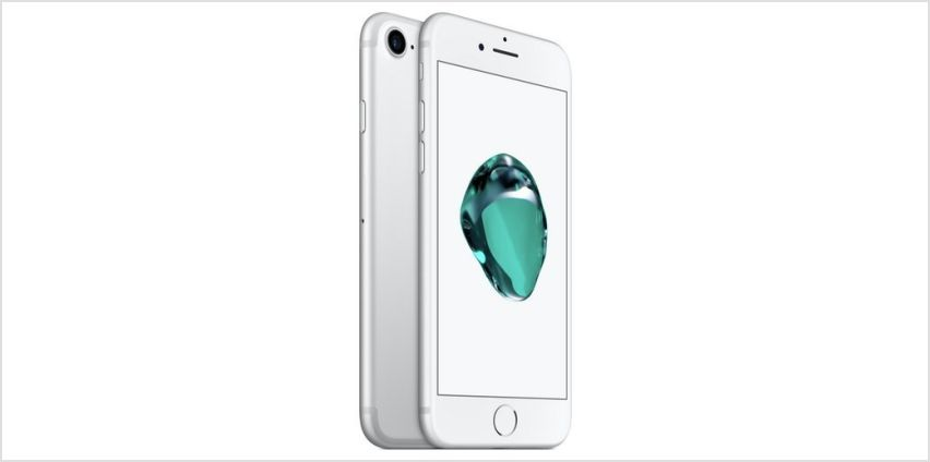SIM Free iPhone 7 32GB Mobile Phone - Silver from Argos