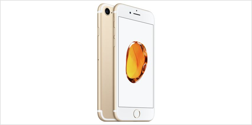 SIM Free iPhone 7 32GB Mobile Phone - Gold from Argos
