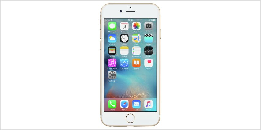 SIM Free iPhone 6s 128GB Mobile Phone - Gold from Argos