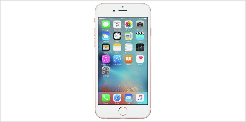 SIM Free iPhone 6s 128GB Mobile Phone - Rose Gold from Argos