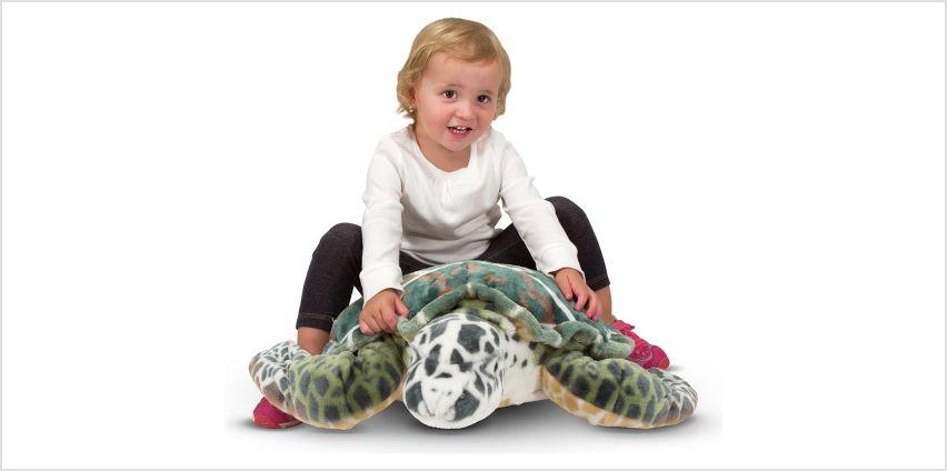 Melissa & Doug Sea Turtle Soft Toy from Argos