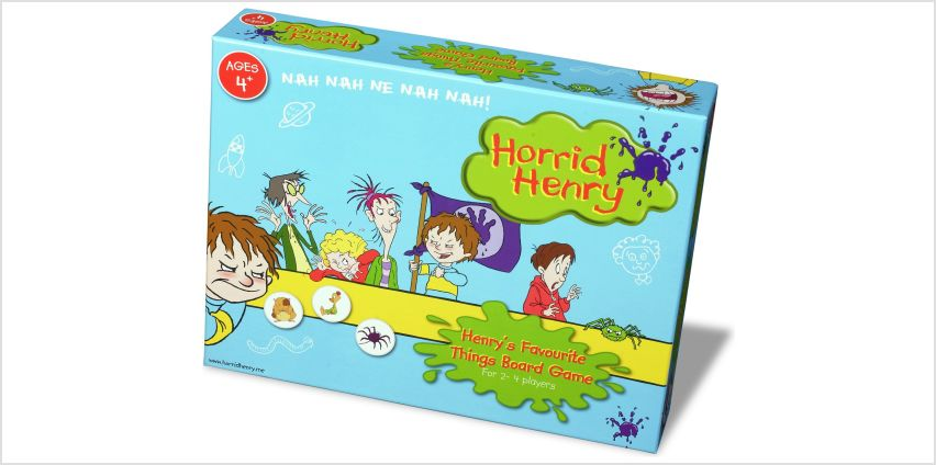 Horrid Henry Board Game from Argos