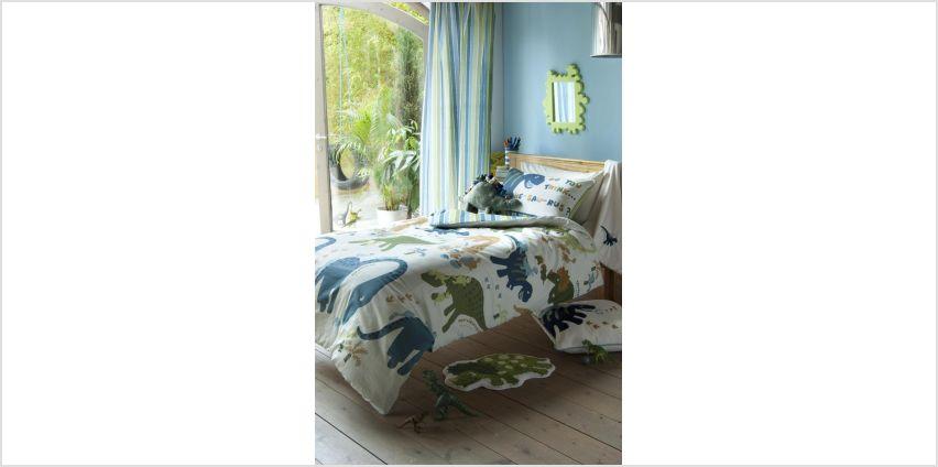 Catherine Lansfield Dino Children's Bedding Set - Single from Argos