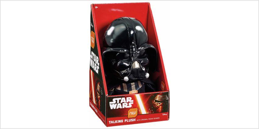 Star Wars Talking Plush Darth Vader. from Argos