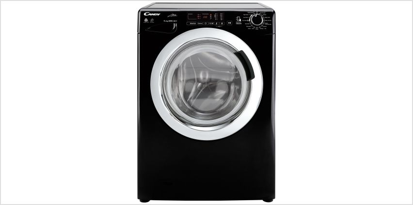 Candy GVSW496C3B 9KG 6KG 1400 Spin Washer Dryer - Black from Argos