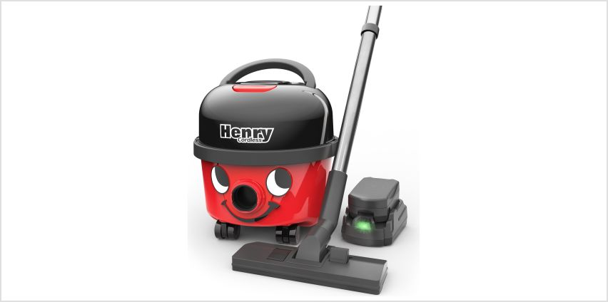 Henry HVB160/2 Bagged Cordless Cylinder Vacuum Cleaner from Argos