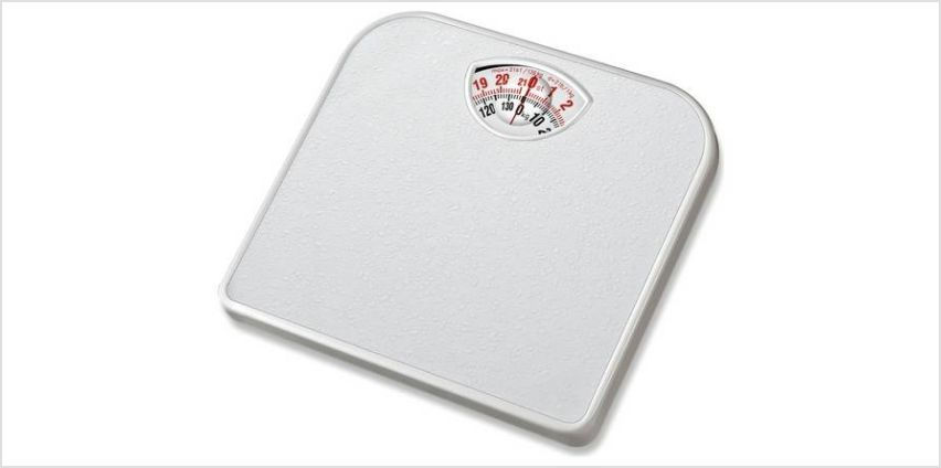 Argos Home Compact Mechanical Bathroom Scale - White from Argos