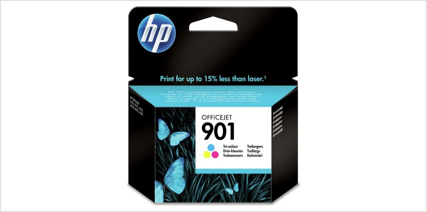 HP 901 XL High Yield Original Ink Cartridges -Black & Colour from Argos