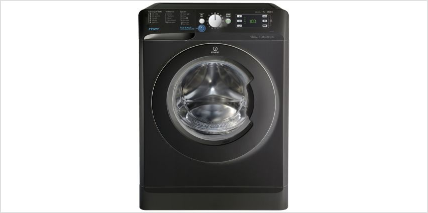 Indesit BWE91484X 9KG 1400 Spin Washing Machine - Black from Argos