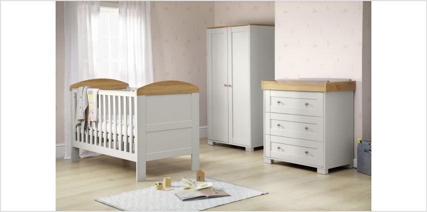 Mamas & Papas Harrow 3 Piece Nursery Furniture Set - Grey from Argos