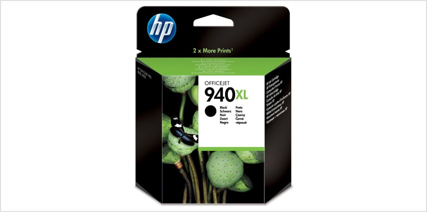 HP 904 XL High Yield Original Ink Cartridge - Black from Argos