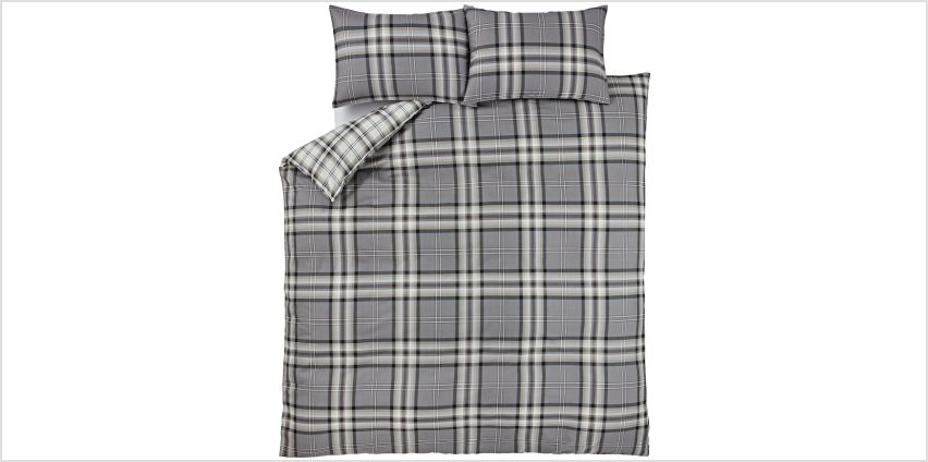 Catherine Lansfield Kelso Bedding Set - Single. from Argos
