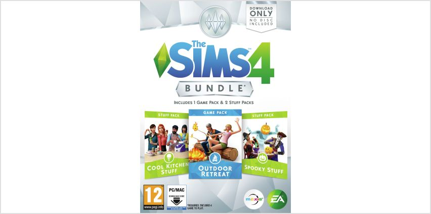 The Sims 4 Outdoor Retreat Bundle Pack from Argos