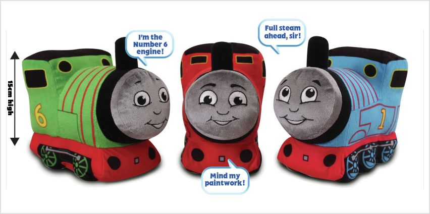 Thomas & Friends Large Talking Soft Toy Assortment from Argos