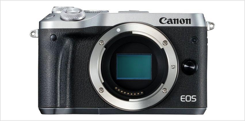 Canon EOS M6 Mirrorless Camera Body from Argos