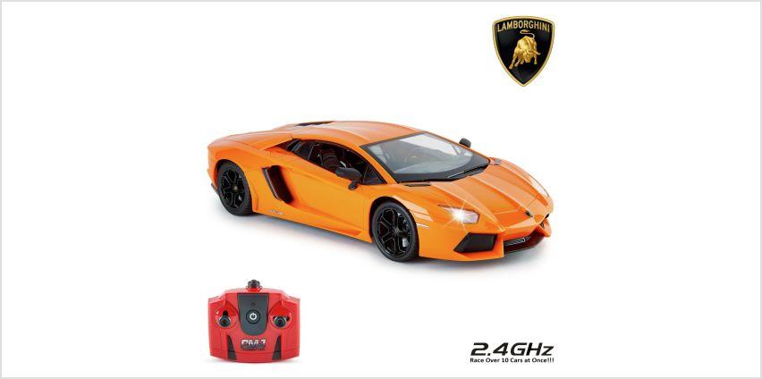 Lamborghini Aventador 1:14 Remote Control Car - Orange from Argos