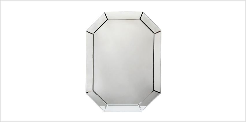 Argos Home Stonehaven Octagonal Bevelled Mirror - Clear from Argos