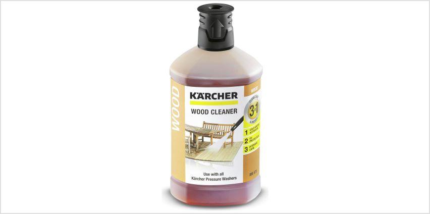 Karcher 3 in 1 Wood Plug 'n' Clean Detergent from Argos