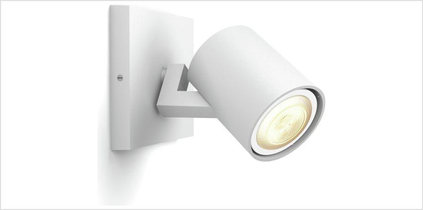 Philips Hue White Ambience Runner LED Spot w/ Dimmer - White from Argos