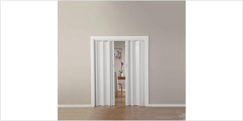 White Oak Effect Folding Double Door from Argos