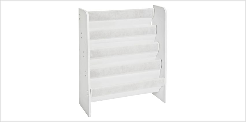Argos Home White Book Tidy from Argos