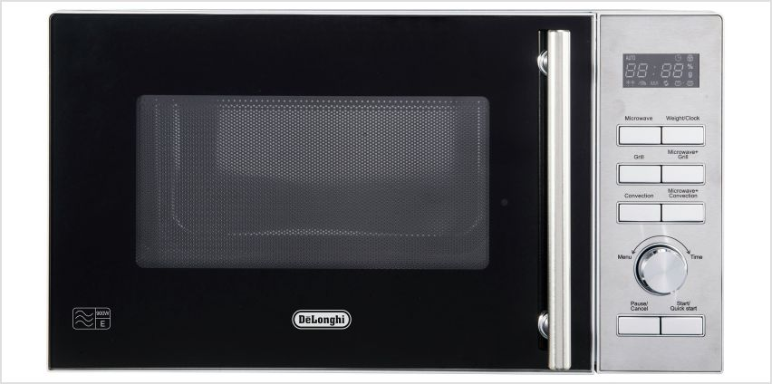 De'Longhi 900W Combination Microwave D90D - Stainless Steel from Argos