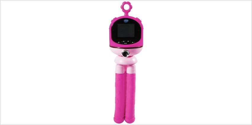 VTech KidiZoom Flix Alien Camera - Pink from Argos