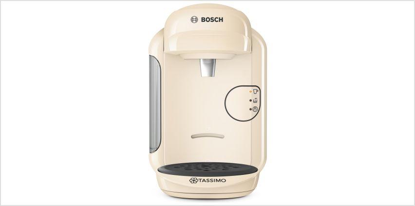 Tassimo by Bosch Vivy 2 Pod Coffee Machine - Cream from Argos