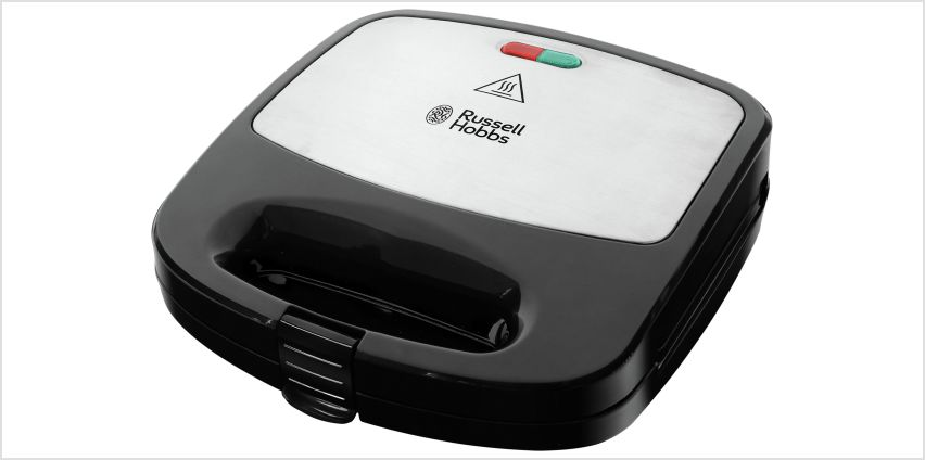 Russell Hobbs Deep Fill 3in1 Sandwich, Panini & Waffle Maker from Argos