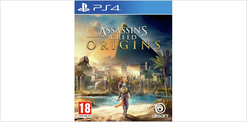 Assassin's Creed Origins PS4 Game. from Argos