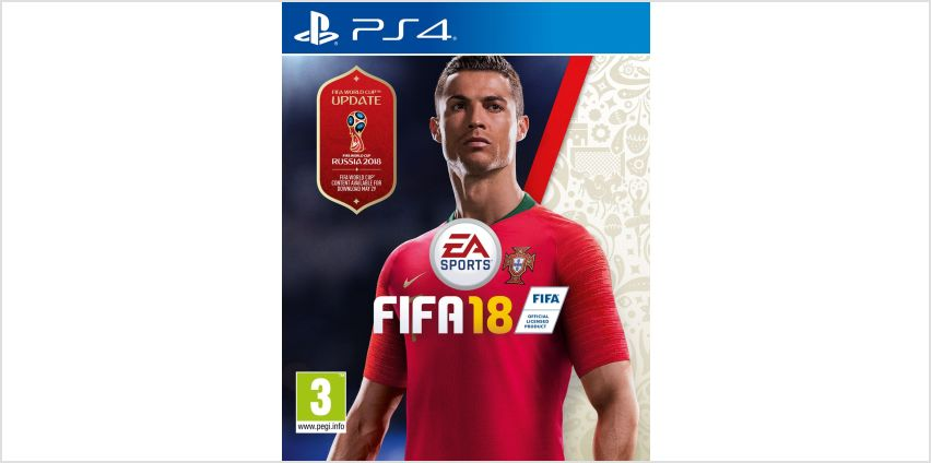FIFA 18 PS4 Game. from Argos