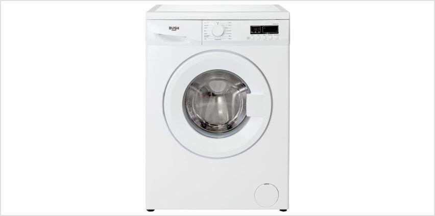 Bush WMDF814W 8KG 1400 Spin Washing Machine - White from Argos