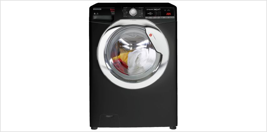 Hoover WDXOA686CB 8 / 6KG 1600 Spin Washer Dryer - Black from Argos