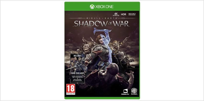 Shadow of War Standard Edition Xbox One Game from Argos