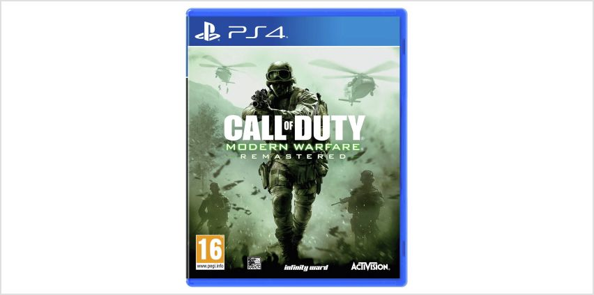 Call of Duty 4: Modern Warfare PS4 Game from Argos